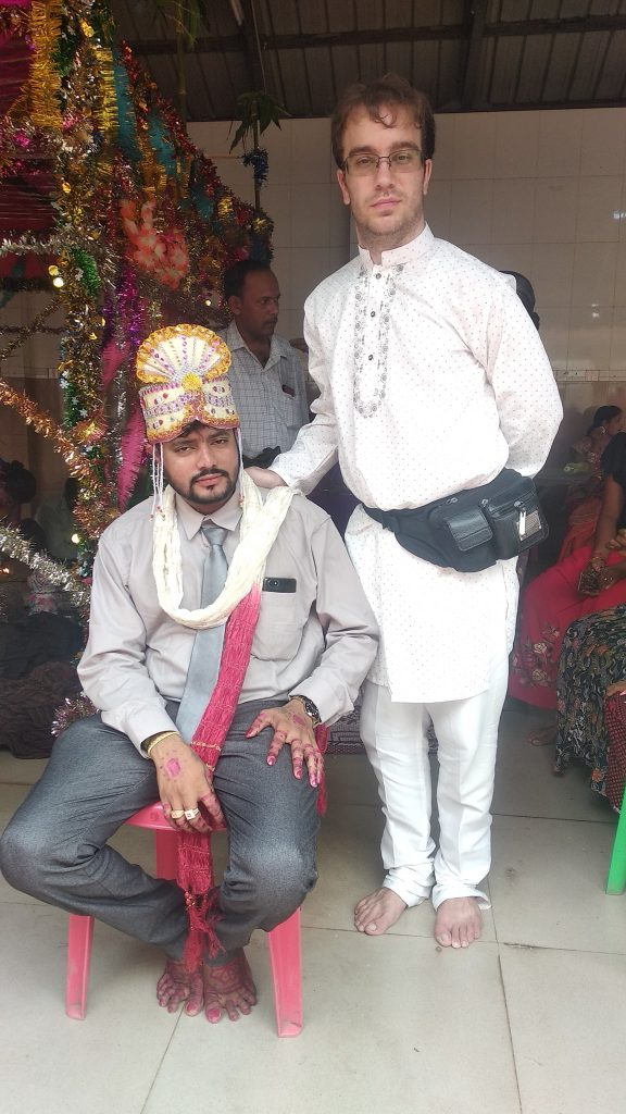 Sanjay and I at his wedding in 2019